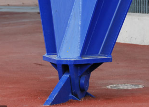 Hinged Support
